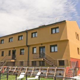 Fachada Casa Rural Miradiez